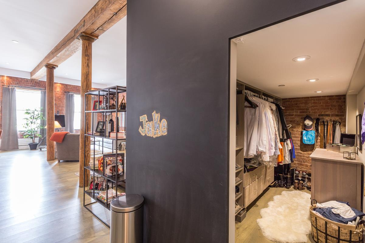 272 water street, south street seaport, condo, loft, walk-in closet
