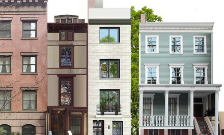 39 South Elliott Place, R.A.Max Studio, Landmarks Preservation Commission, Fort Greene townhouse