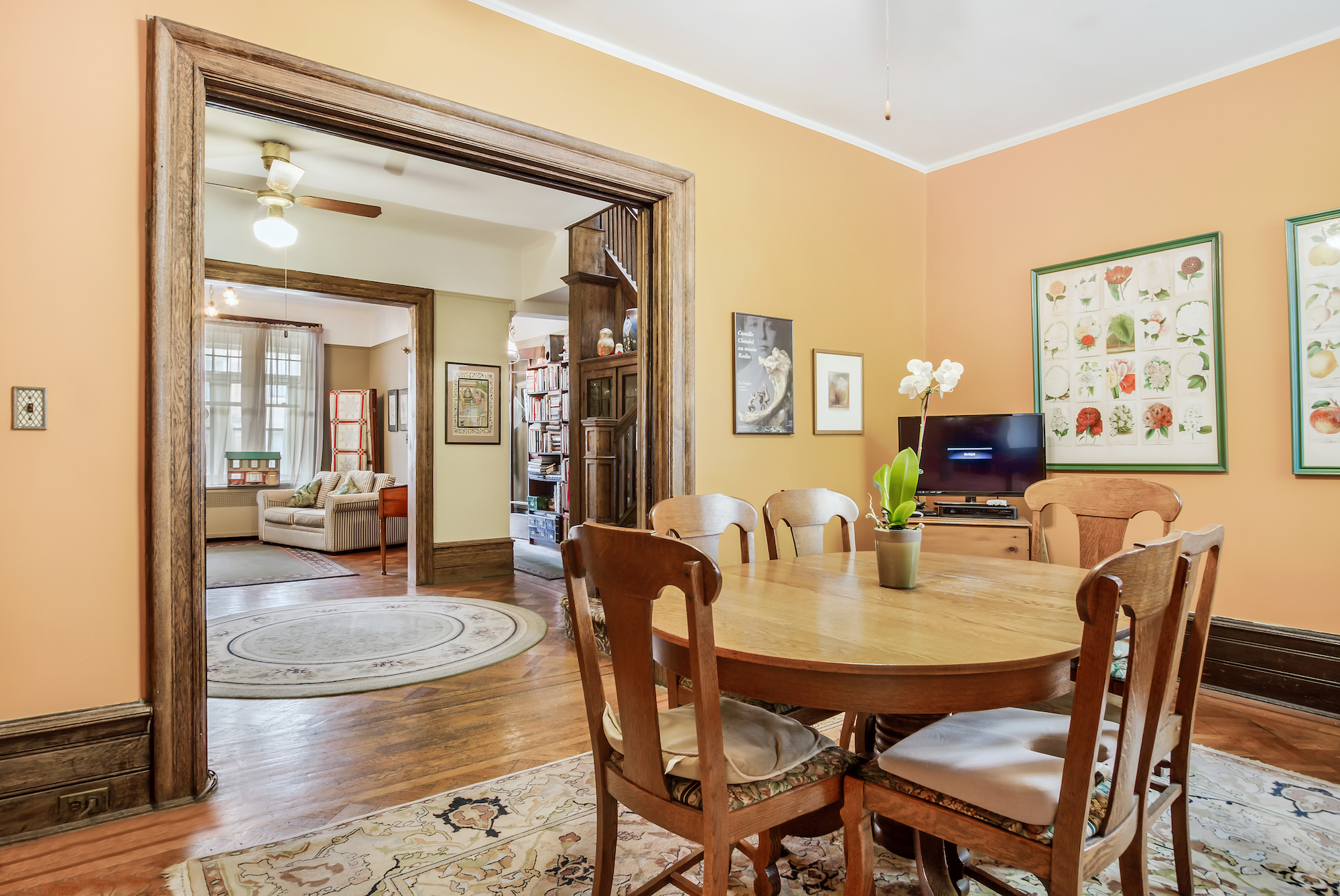207 Windsor Place , Windsor Terrace, Brooklyn Townhouse, Craftsman style, townhouse, historic homes, cool listings