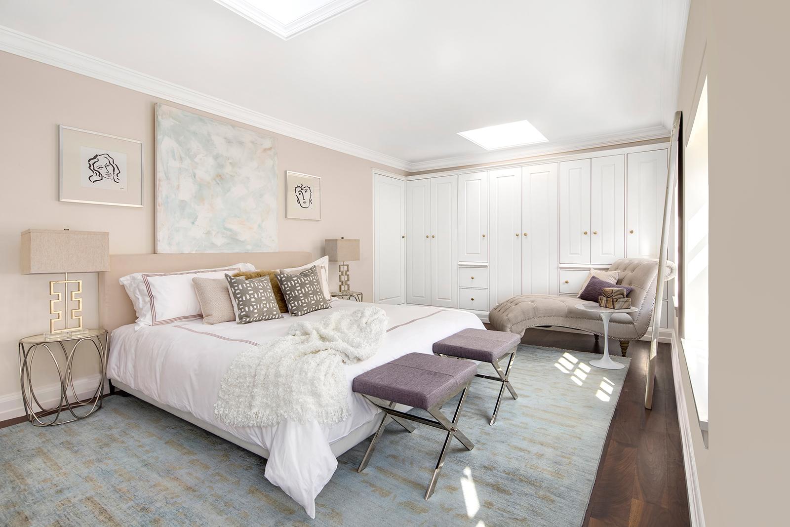 61 washington mews, greenwich village, bedroom