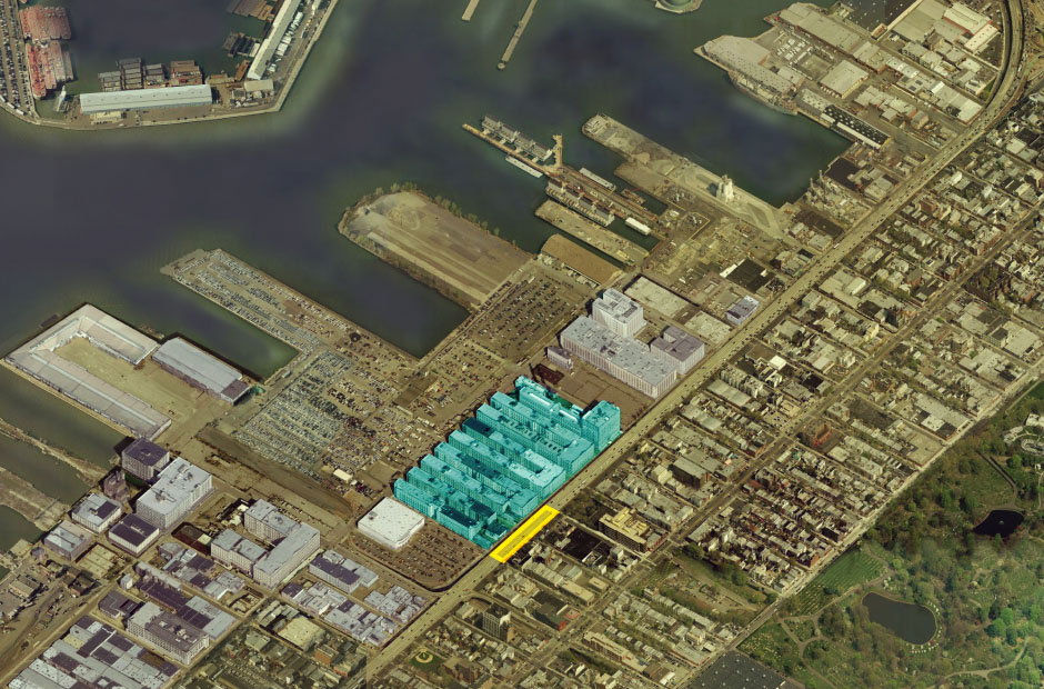 Under BQE Industry City