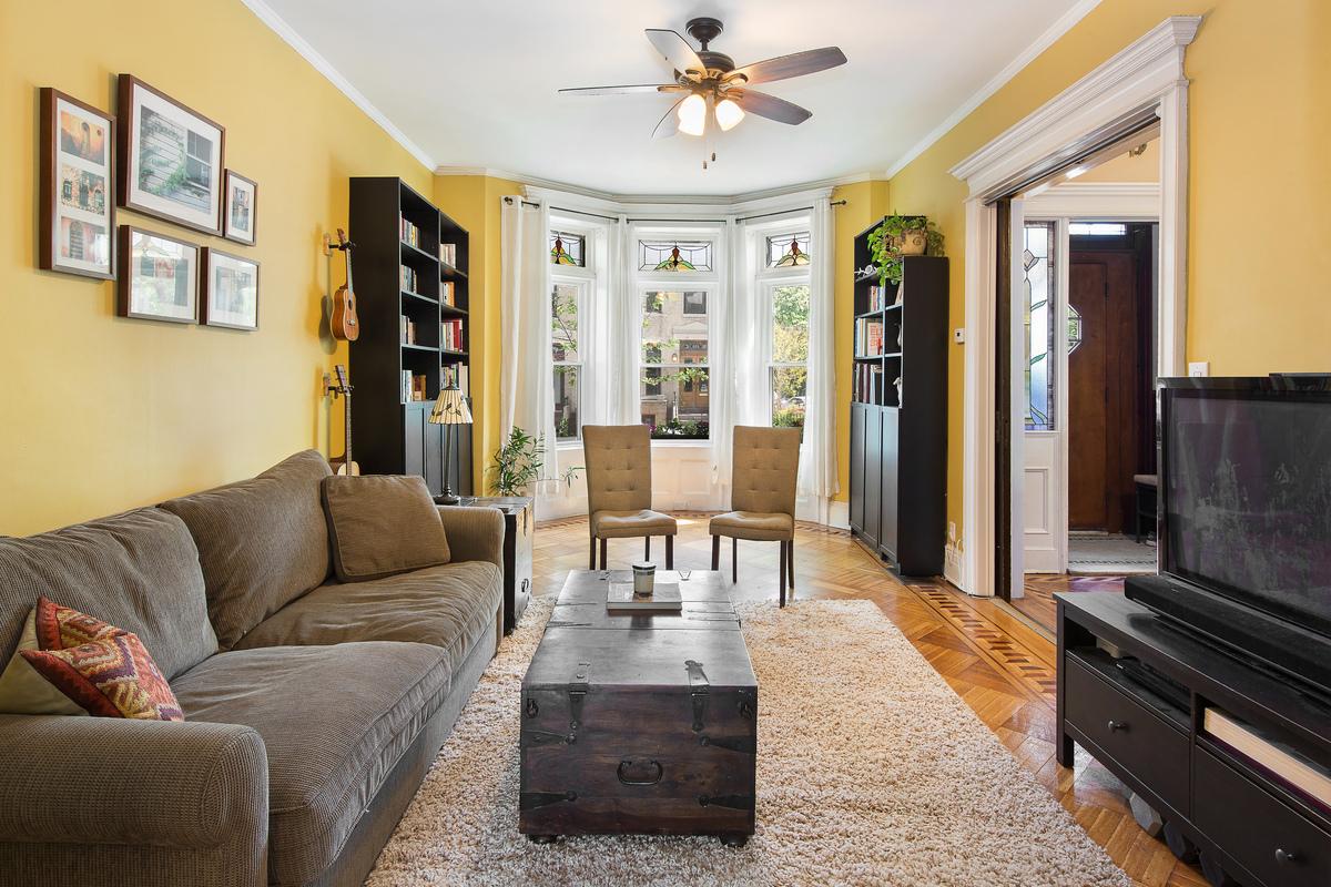654 76th Street Living Room