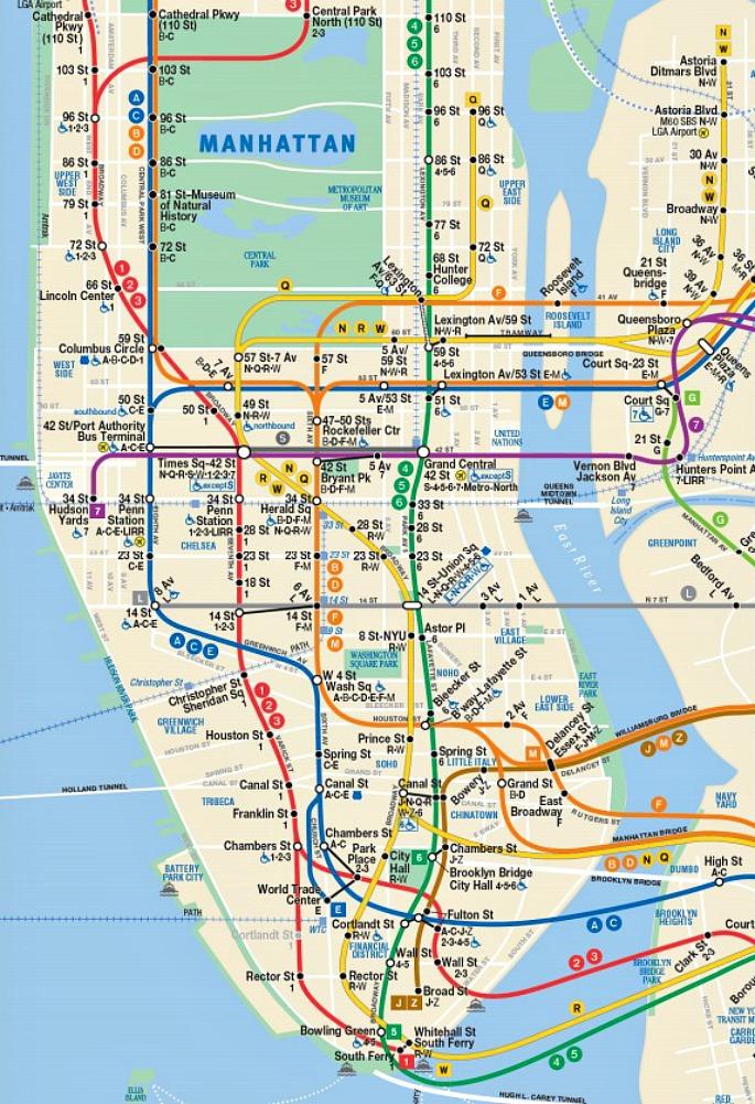 MTA Flaunts Future Subway Map With Second Avenue Line 6sqft