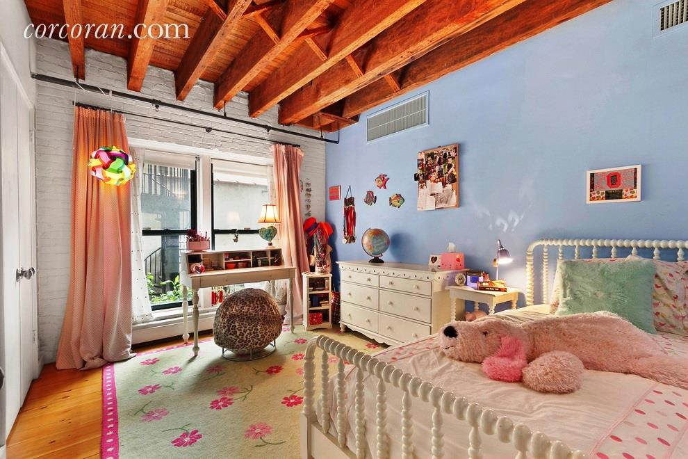 211 east 2nd street, the carriage house, rental, east village, second bedroom