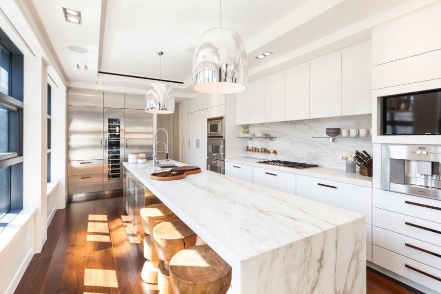 137 franklin street, penthouse, tribeca, kitchen