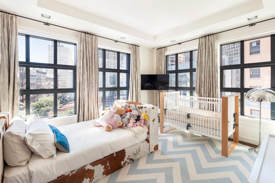 137 franklin street, penthouse, tribeca, bedroom