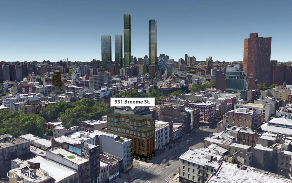 Lower East Side skyline