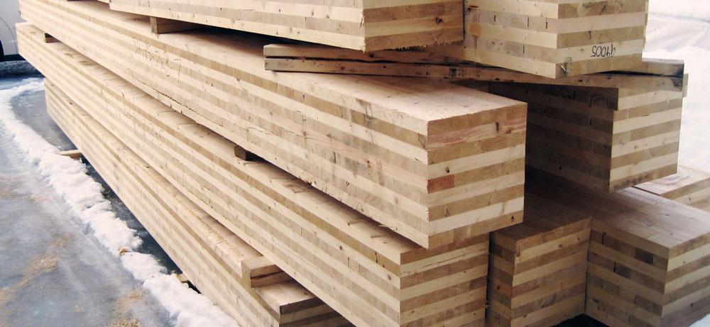 cross-laminated timber