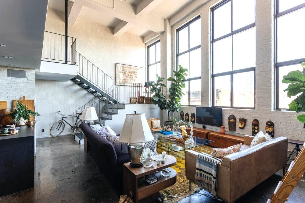 Brooklyn Design Firm Creates Dramatic Living Spaces Inside A Williamsburg Loft 6sqft