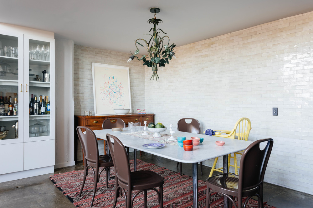 Space Explorations, Williamsburg loft, dining room