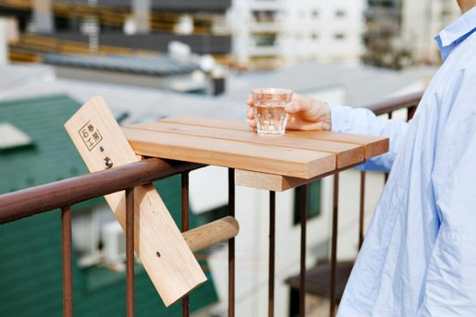 Sky Desk, Torafu Architects, fire escape furniture