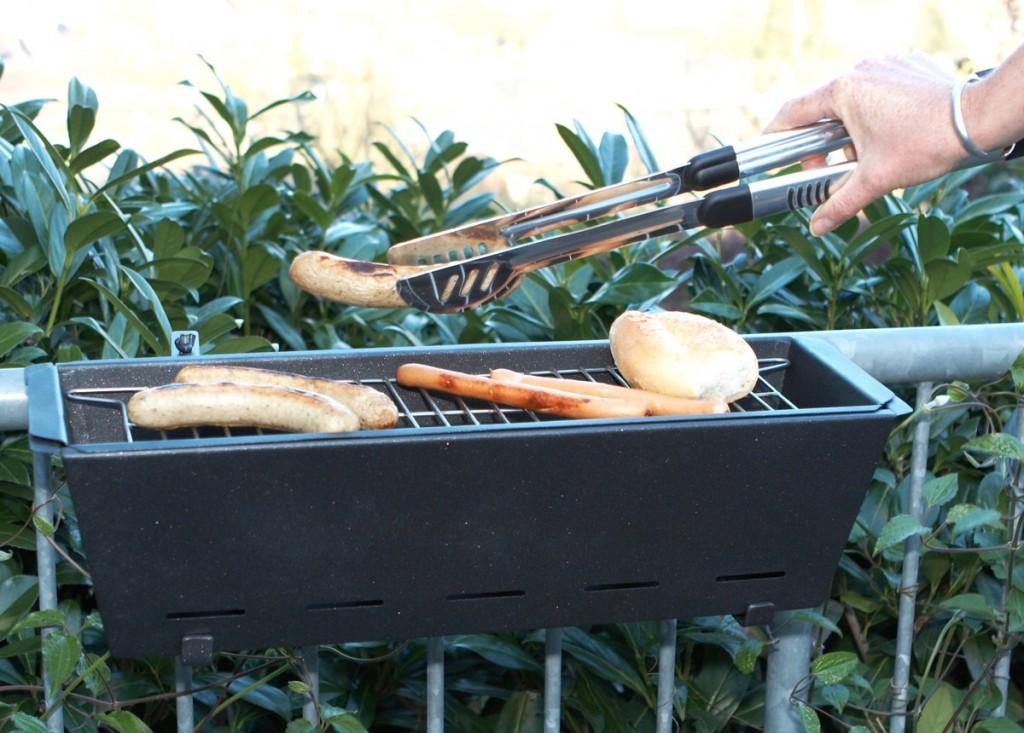 Bruce Handrail Grill, fire escape grill, Henrick Drecker