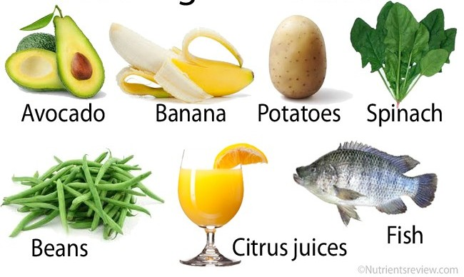 High potassium food