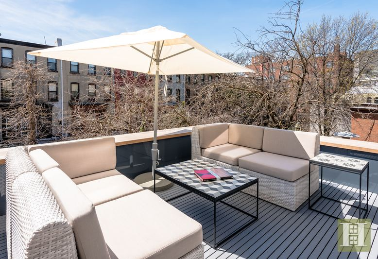 588 Madison Street, bed-stuy, townhouse, roof deck