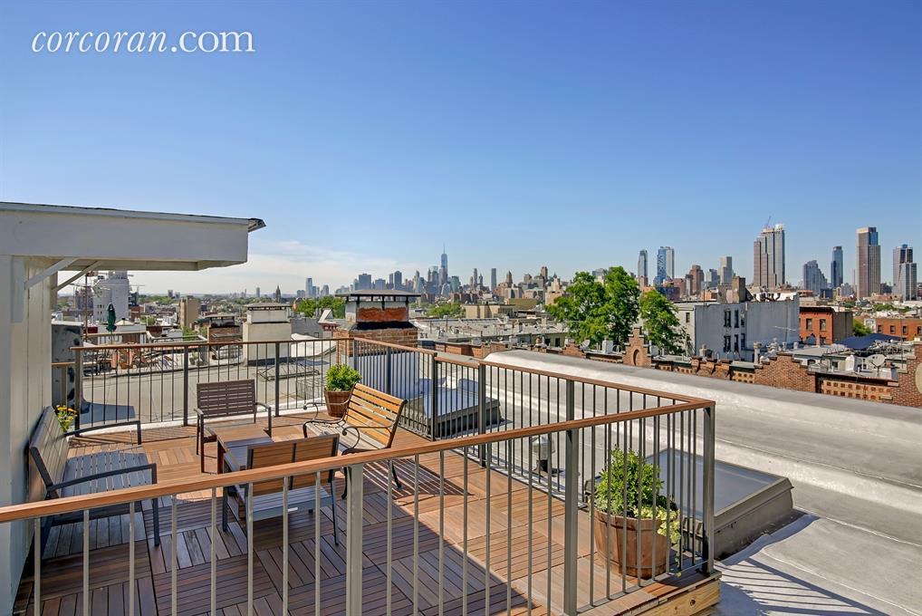 656 carroll street, park slope, co-op, roof deck