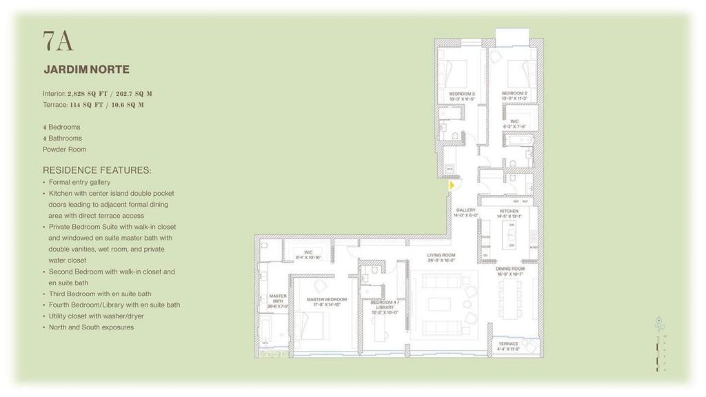 Jardim Floor Plan