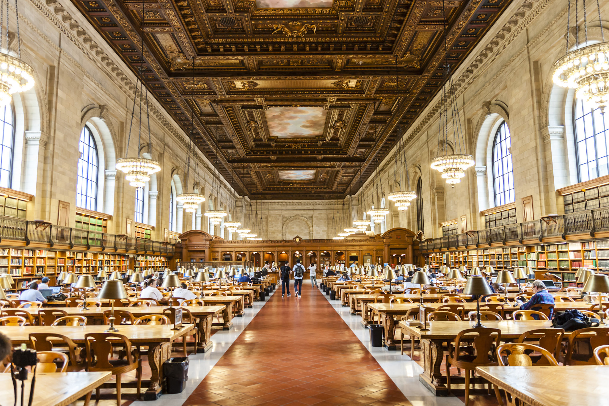 Life Behind The Stacks The Secret Apartments Of New York Libraries 6sqft