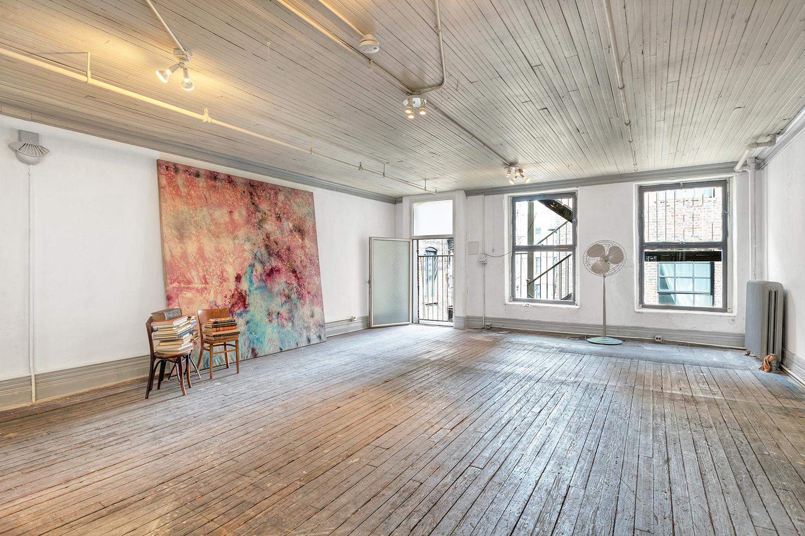 Former Soho Loft Of Artist Bill Alpert Hits The Market For