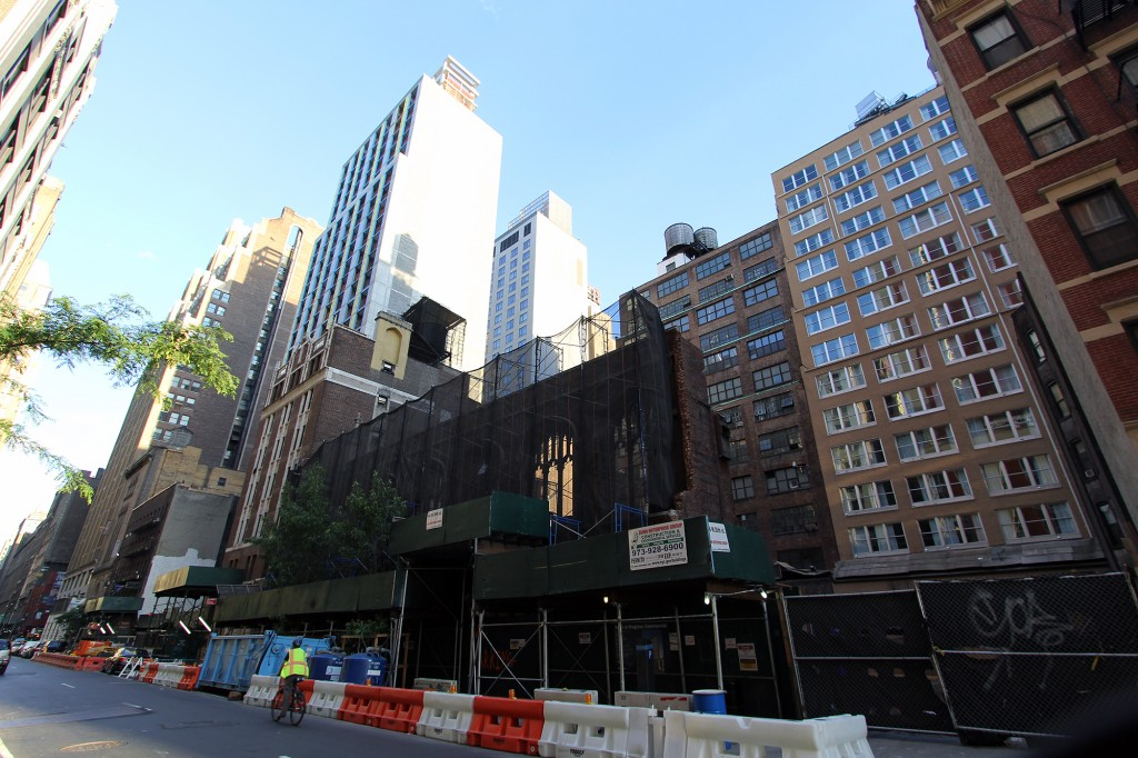 334 West 36th Street, McSam Hotel, Christ Church
