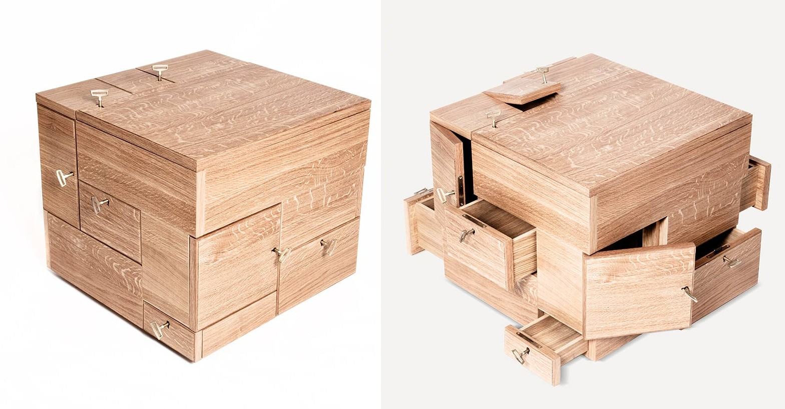 The shrine is a cubic cabinet for keeping precious things for Furniture box