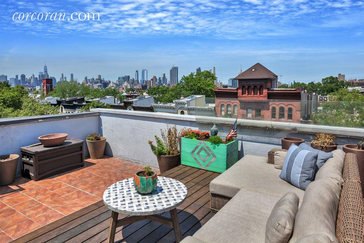 Location and a Roof Deck With a View Elevate This 15M  : 486 Third Street Roof Deck from www.6sqft.com size 1200 x 800 jpeg 201kB