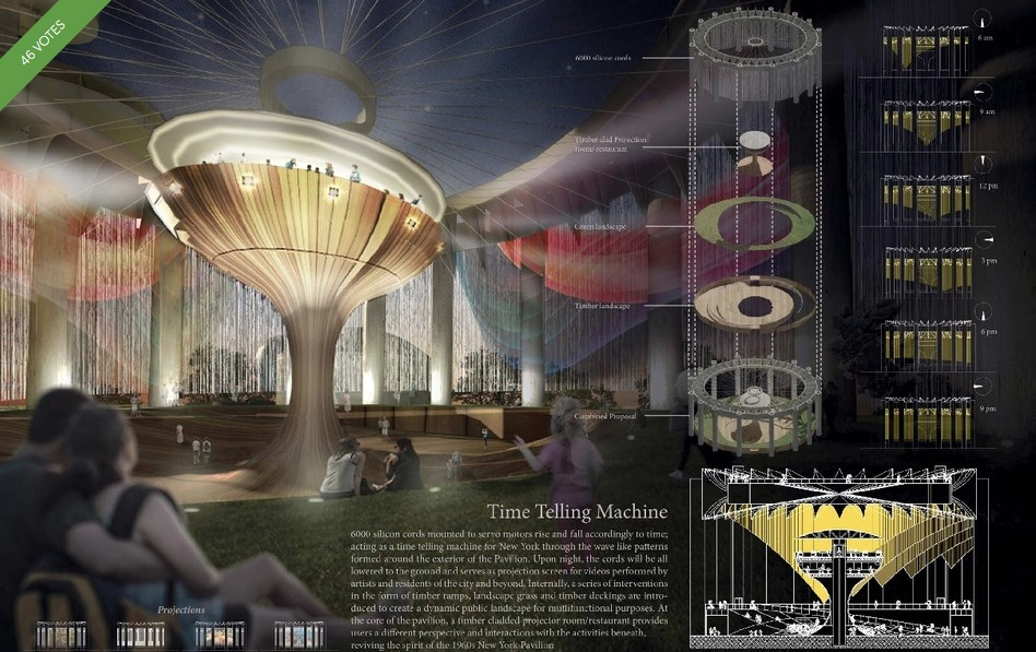 NY State Pavilion-Competition-Time Telling Machine