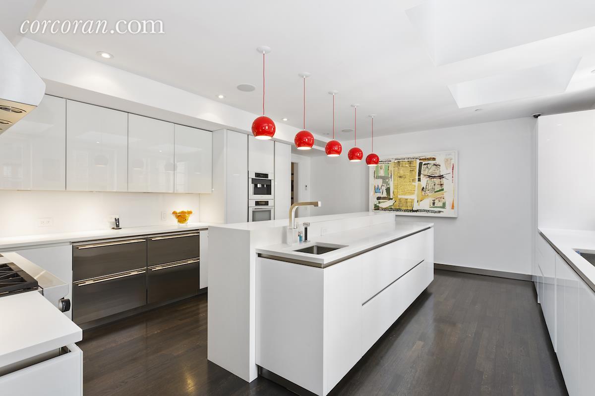 3 East 95th Street, Carhart Mansion, Tamara Mellon, kitchen