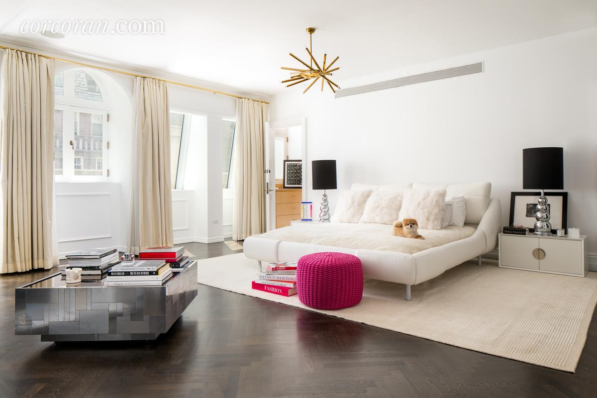 3 East 95th Street, Carhart Mansion, Tamara Mellon, bedroom