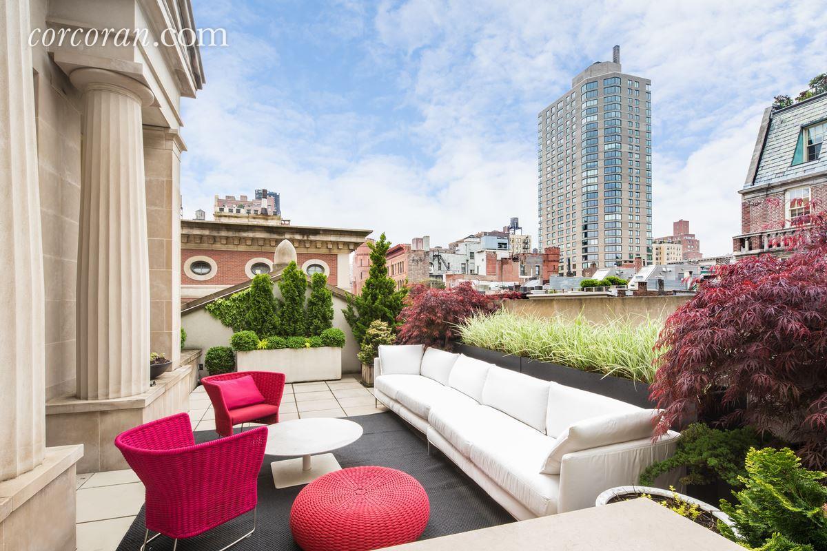 3 East 95th Street, Carhart Mansion, Tamara Mellon, roof deck