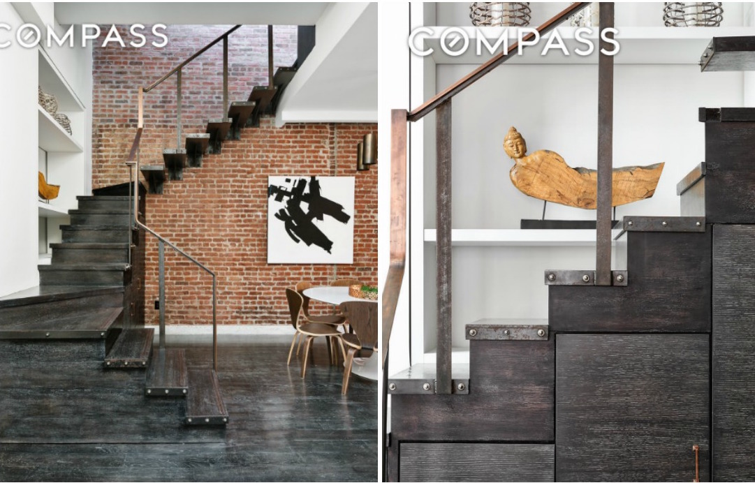 303 Mercer Street Stairs