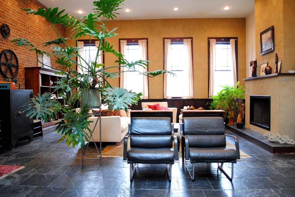 246 Frost Street, Williamsburg, firehouse, living room