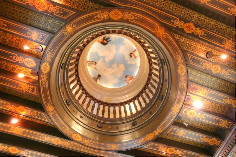 450 Claremont Road, Stronghold Castle, New Jersey, ceiling, historic