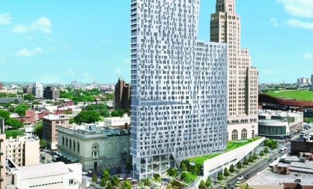 300 Ashland Place , TEN Arquitectos, Two Trees Management, Downtown Brooklyn rentals, BAM Cultural District