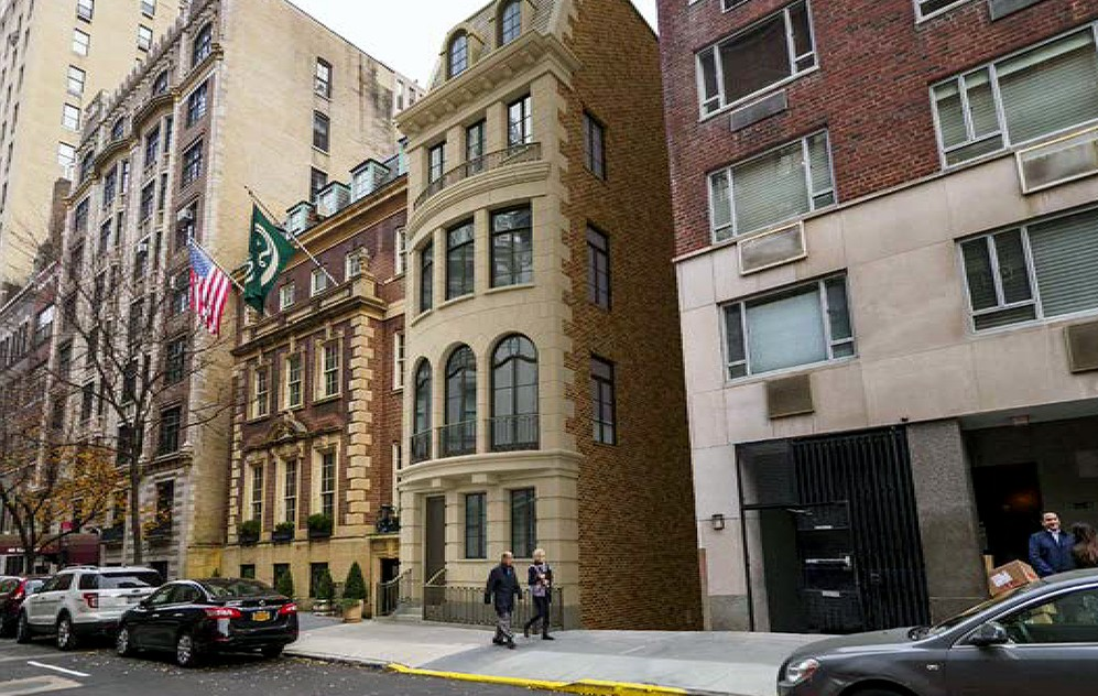 Upper East Side townhouses, Landmarks Preservation Commission, 34 East 62nd Street, HS Jessup Architecture
