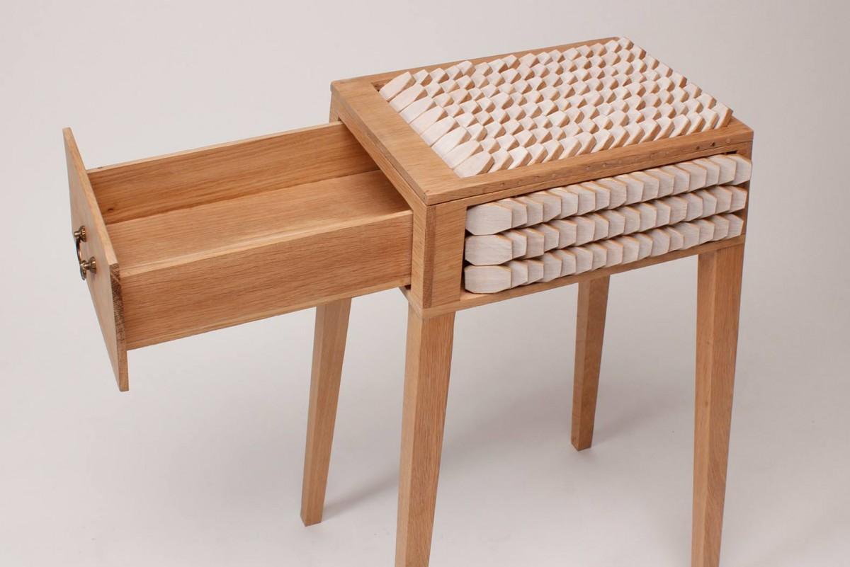 Juno Jeon's Bedside Table Has Scales That Act Like a ...