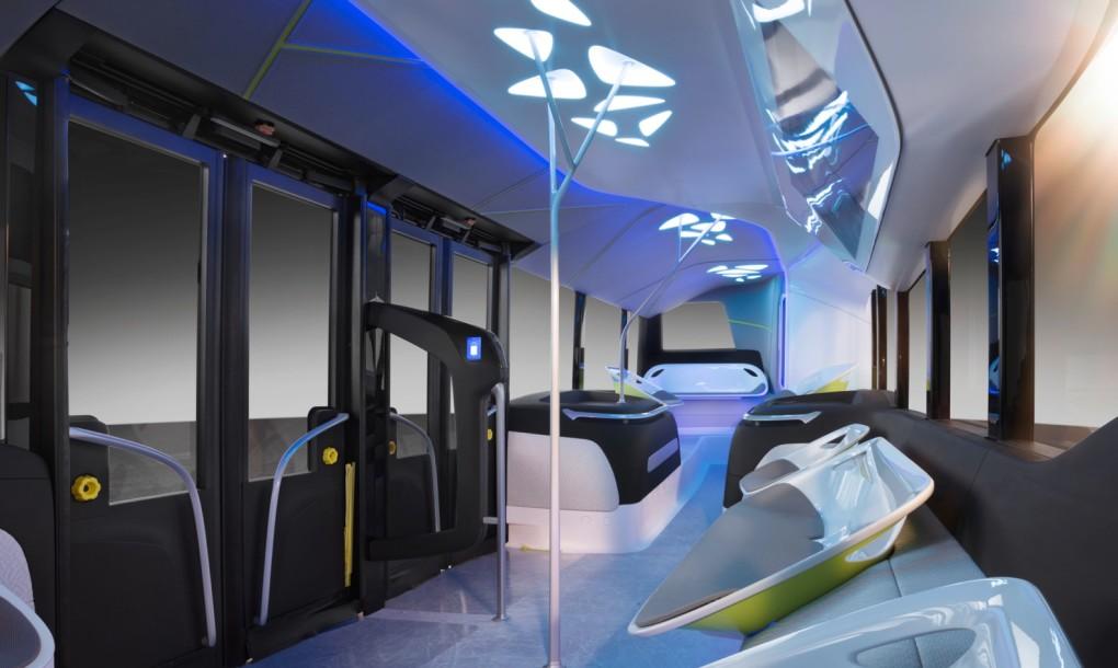 Mercedes-Benz Future Bus Self-Driving Bus