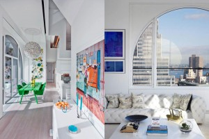 David Hotson, Ghislaine Viñas, SkyHouse, NYC Design, FiDi Apartment, Financial District