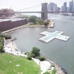 concept drawing, Plus Pool, Brooklyn design team, concept art, pool design, East River
