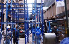 scaffolding, nyc scaffolding, the story behind scaffolding, the history of scaffolding, nyc construction, new your construction sites, post no bills