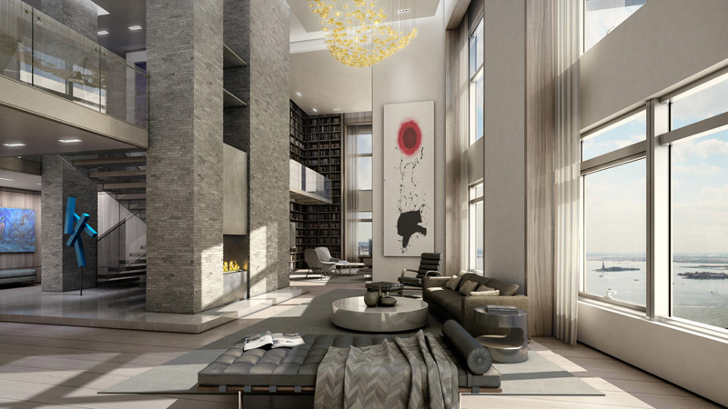 Sky High Living: Inside the Penthouses of 10 of Manhattan\'s ...