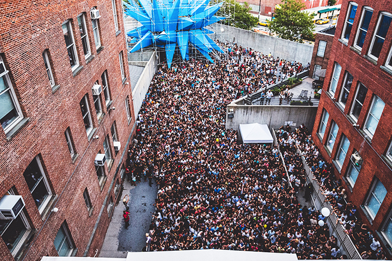 PS1 Summer Warm Up, MoMA PS1, MoMA PS1 Wendy, Wendy at PS1, HWKN