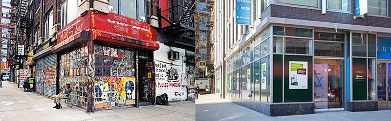 New york city gentrification, NYC gentrification, NYC storefronts, James and Karla Murray, Karla Murray, James Murray, Store Front: The Disappearing Face of New York