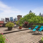 454 W 46th St. PH 6BS terrace