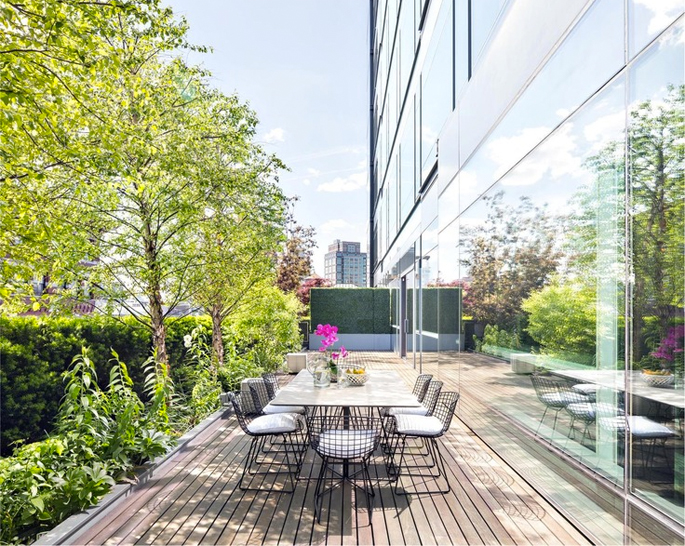 40 Mercer Street penthouse terrace