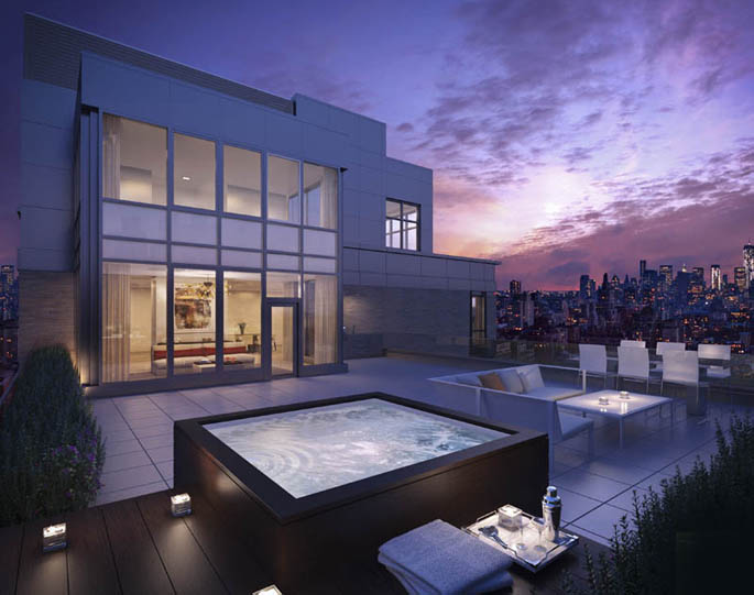 21 West 20th Street penthouse terrace