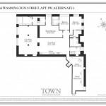 466 Washington Street floor plan