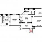 1035 Fifth Avenue, 12A Floorplan