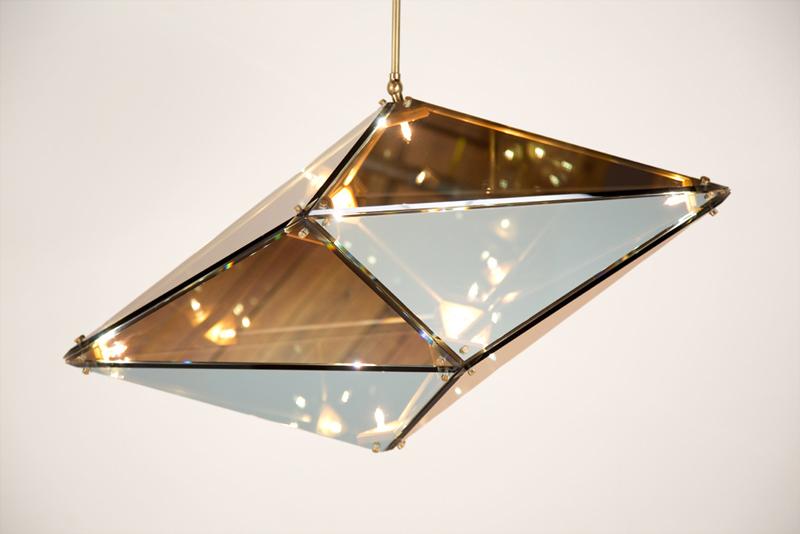 bec brittain's maxhedron pendant lamp