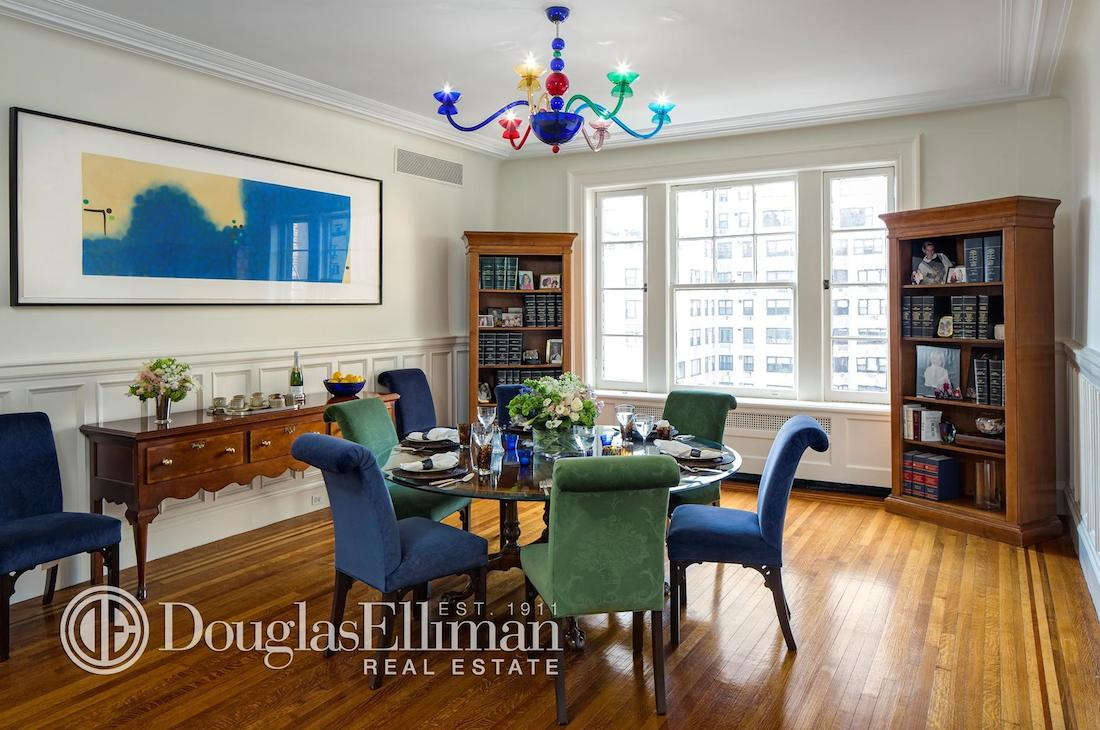 830 Park Ave dining room