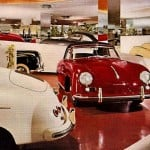 A photo of the Frank Lloyd Wright auto showroom.